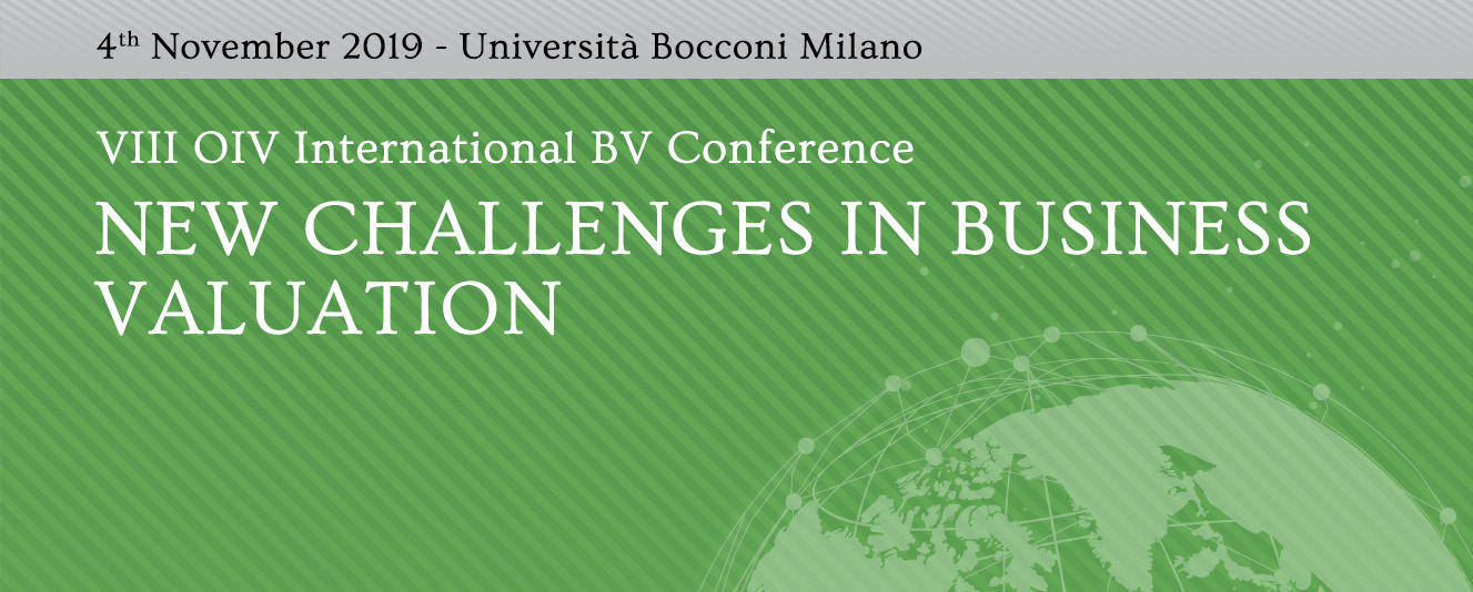 VIII OIV International Valuation Conference, 4.11.2019